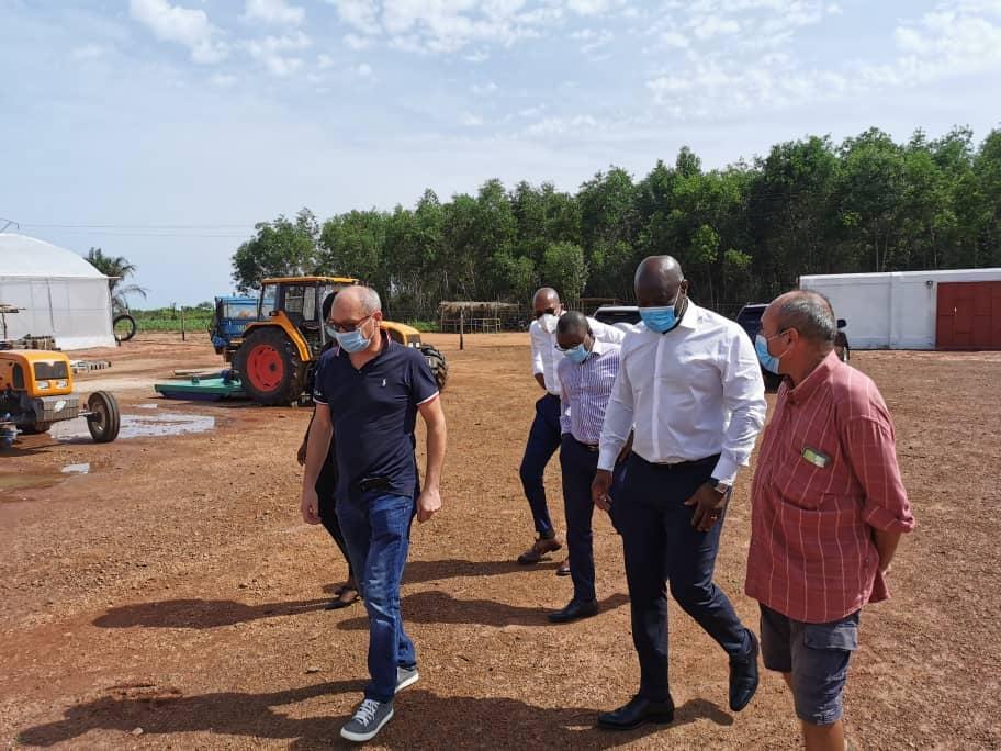 AGRO-BUSINESS : L'APIEx au côté de la société les Primeurs du Bénin