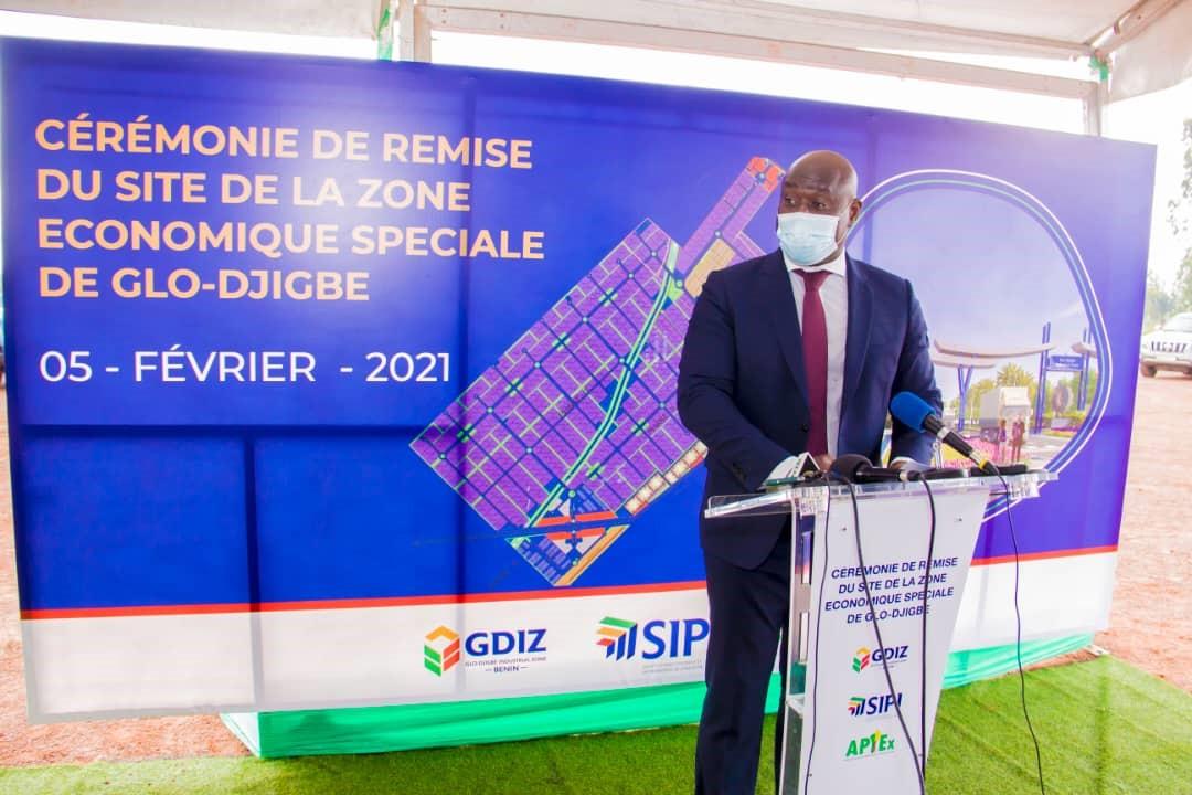 Bénin : 300 000 emplois annoncés dans le cadre de la mise en œuvre du projet de Zone Economique Spéciale de Glo-Djigbé
